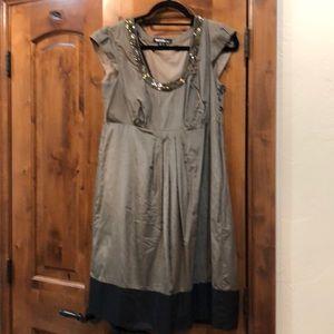 Cap sleeve party dress